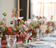Fall dinner party ideas from The Wedding Artists Collective