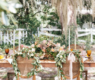 Elegant southern fall wedding ideas on Mobile Bay