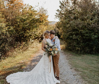 Vintage fall same-sex wedding inspiration