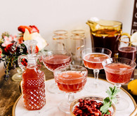 festive cocktail recipes on 100 Layer Cake