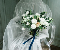 Elegant winter garden bouquet