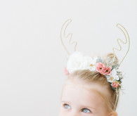 reindeer headband for little girls