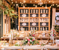 Snowy Christmas wedding at Terrain at Stylers