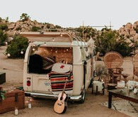 VW van wedding decor