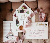 French flower market inspired 1st birthday party