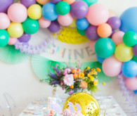 Rainbow pastel unicorn birthday party