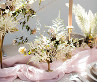 Romantic natural spring tablescape ideas