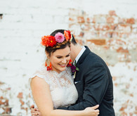 Mexican vintage-inspired wedding at Howl Long Beach