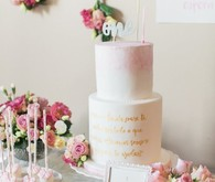Whimsical girl's first birthday ideas on 100 Layer Cakelet