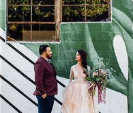 DIY warehouse wedding at Six Hundred King in Jacksonville