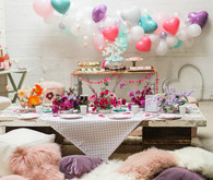 Bright fun Valentine's Brunch