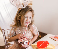 Galentine's party for little girls