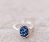 sapphire engagement ring