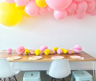 Museum of Ice Cream inspired Banana birthday party