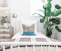 Modern coastal girl's room by Pure Salt Interiors
