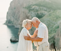 50th anniversary session by the sea