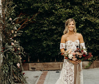 Boho Los Angeles wedding at The Lombardi House