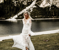 Italian mountain elopement in the Dolomites