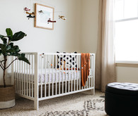 Boys minimal earth tone nursery
