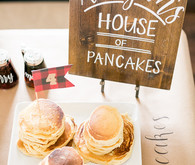 Pancake themed birthday party