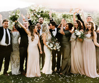 New Years Eve wedding at the Frederick Lowe Estate in Palm Springs
