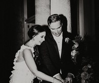 Nighttime wedding at Vizcaya Museum & Gardens in Miami