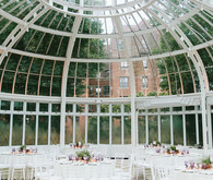 Butterfly themed spring wedding at Brooklyn Botanic Gardens