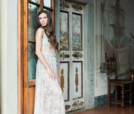 Romantic Tuscan boudoir session