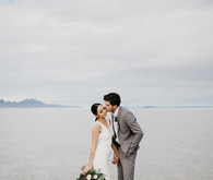 Bonneville Salt Flats engagement session