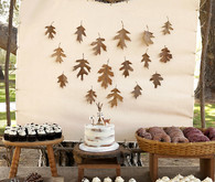 DIY nature-themed 2nd birthday party