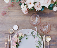 feminine garden baby shower with Casa de Perrin