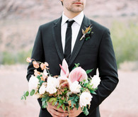 Dreamy desert elopement shoot in Las Vegas