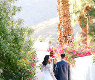 A ring designer's Palm Springs wedding at Korakia
