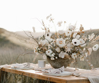 Earthy bohemian picnic ideas for summer on 100 Layer Cake