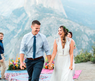 Colorful Yosemite elopement and picnic