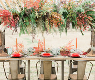 Desert color inspired fall wedding ideas in Texas