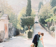Romantic Lake Como wedding inspiration