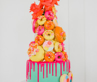 Whimsical neon candy-inspired wedding ideas
