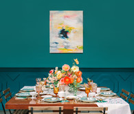 Colorful modern party ideas