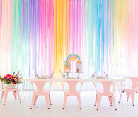 Modern rainbow My Little Pony party