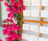 Bougainvillea wedding at Casa Cody in Palm SpringsBougainvillea wedding at Casa Cody in Palm Springs