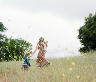 Spring wildflower family session in Topanga Canyon by Hello Pinecone