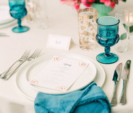 Colorful spring Texas wedding with Mexican details
