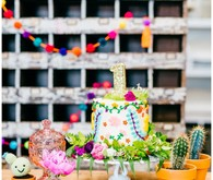 June's 1st birthday modern mexican fiesta