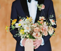 On trend now, a tamarind and pink wedding editorial in Sonoma CA