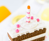 Modern Lego themed birthday party