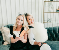 Helicopter-themed baby shower in at Hangar 21 in Orange County