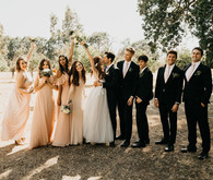 A stylish, thoughtful backyard wedding for $10K on 100 Layer Cake
