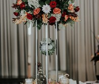 Large floral centerpiece