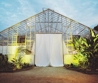 Classic California wedding in an old greenhouse at The Orchid in Santa Barbara
